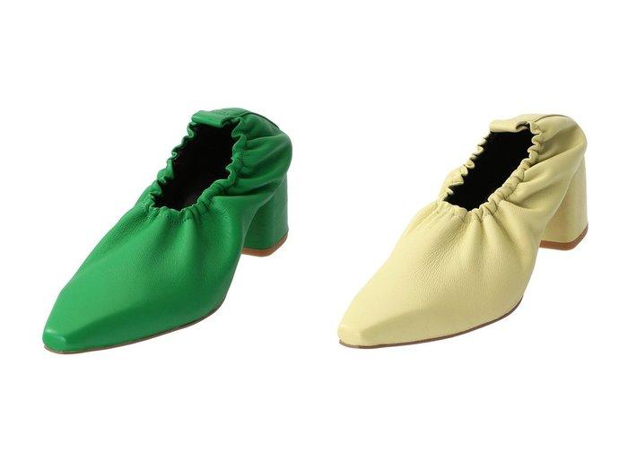 【MAISON SPECIAL/メゾンスペシャル】のラッフルパンプス 【シューズ・靴】おすすめ!人気、トレンド・レディースファッションの通販 おすすめ人気トレンドファッション通販アイテム インテリア・キッズ・メンズ・レディースファッション・服の通販 founy(ファニー) https://founy.com/ ファッション Fashion レディースファッション WOMEN ギャザー スクエア |ID:crp329100000071201