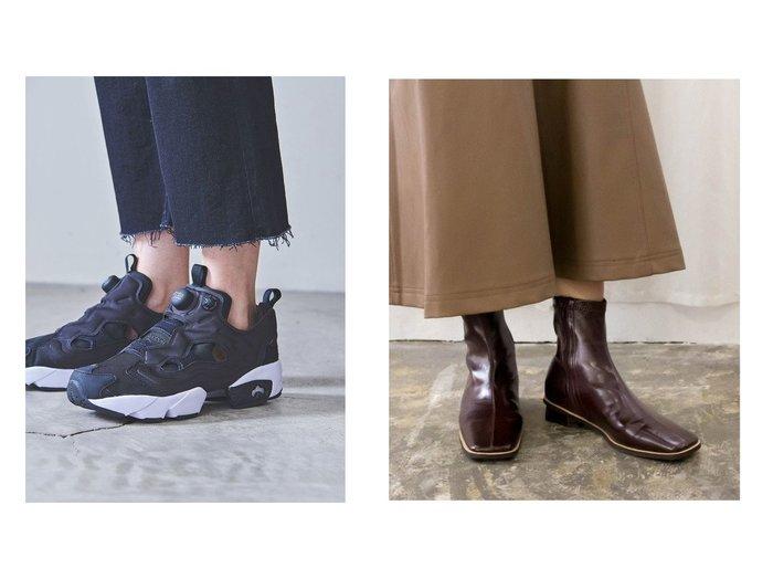 【UNITED ARROWS/ユナイテッドアローズ】のReebok(リーボック) INSTPUMP FURY スニーカー&【RANDA/ランダ】のストレスフリー/ソフト ストレッチ 配色ピースショートブーツ 【シューズ・靴】おすすめ!人気、トレンド・レディースファッションの通販 おすすめ人気トレンドファッション通販アイテム インテリア・キッズ・メンズ・レディースファッション・服の通販 founy(ファニー) https://founy.com/ ファッション Fashion レディースファッション WOMEN NEW・新作・新着・新入荷 New Arrivals クッション シューズ ショート ストレッチ トレンド スニーカー スリッポン フィット モノトーン レース |ID:crp329100000071206