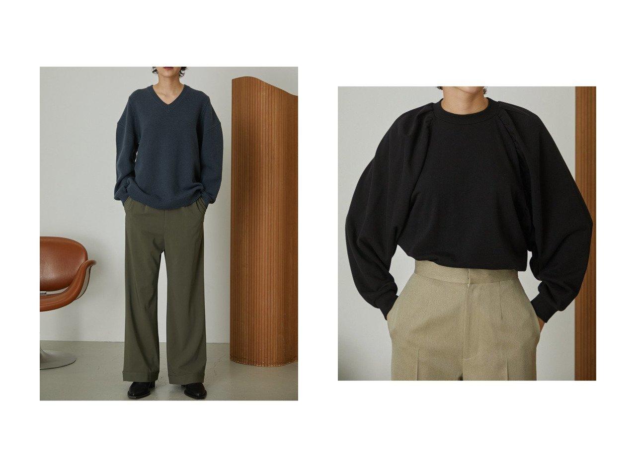 【RIM.ARK/リムアーク】のニット&トップス 【トップス・カットソー】おすすめ!人気、トレンド・レディースファッションの通販 おすすめで人気の流行・トレンド、ファッションの通販商品 インテリア・家具・メンズファッション・キッズファッション・レディースファッション・服の通販 founy(ファニー) https://founy.com/ ファッション Fashion レディースファッション WOMEN トップス・カットソー Tops/Tshirt ニット Knit Tops プルオーバー Pullover シャツ/ブラウス Shirts/Blouses ロング / Tシャツ T-Shirts カットソー Cut and Sewn ショルダー パターン ギャザー コンパクト スリーブ ダウン リラックス ロング |ID:crp329100000071293