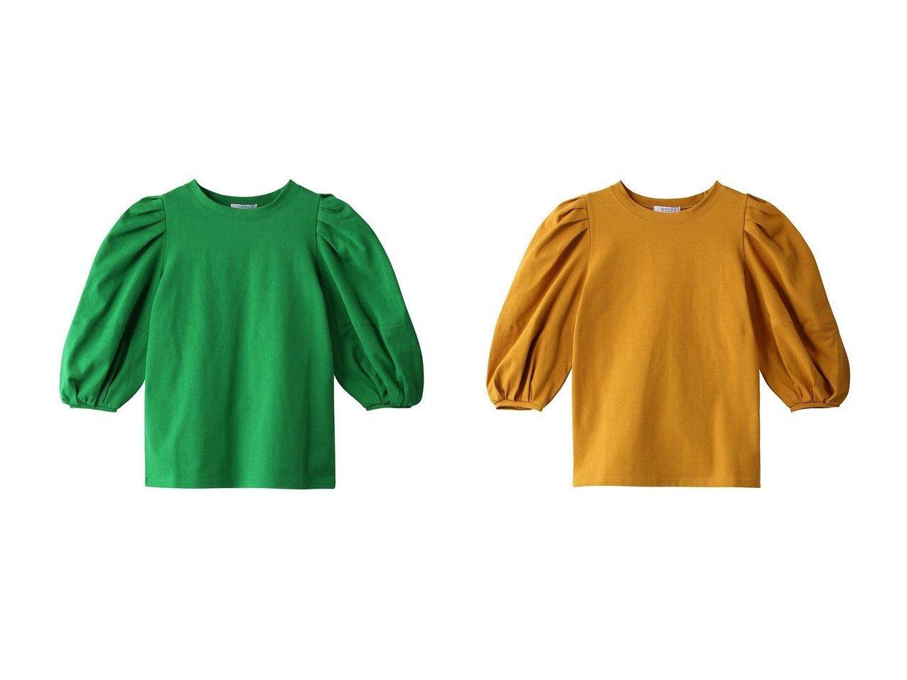【ROSE BUD/ローズバッド】のボリュームスリーブカットソー 【トップス・カットソー】おすすめ!人気、トレンド・レディースファッションの通販 おすすめで人気の流行・トレンド、ファッションの通販商品 インテリア・家具・メンズファッション・キッズファッション・レディースファッション・服の通販 founy(ファニー) https://founy.com/ ファッション Fashion レディースファッション WOMEN トップス・カットソー Tops/Tshirt シャツ/ブラウス Shirts/Blouses ロング / Tシャツ T-Shirts カットソー Cut and Sewn ボリュームスリーブ / フリル袖 Volume Sleeve カットソー スリーブ トレンド フレア ロング 今季 |ID:crp329100000071298