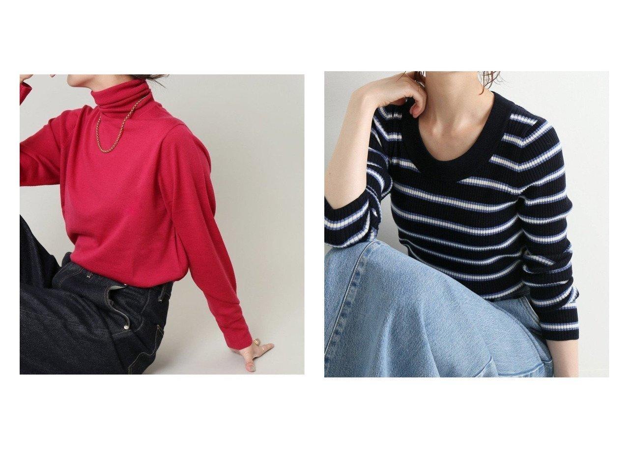 【IENA/イエナ】の3x3リブ Uネックプルオーバー&ALBA タートルネックプルオーバー 【トップス・カットソー】おすすめ!人気、トレンド・レディースファッションの通販 おすすめで人気の流行・トレンド、ファッションの通販商品 インテリア・家具・メンズファッション・キッズファッション・レディースファッション・服の通販 founy(ファニー) https://founy.com/ ファッション Fashion レディースファッション WOMEN トップス・カットソー Tops/Tshirt ニット Knit Tops プルオーバー Pullover タートルネック Turtleneck アンサンブル イタリア インナー タートルネック 定番 Standard ベーシック A/W・秋冬 AW・Autumn/Winter・FW・Fall-Winter 2021年 2021 2021-2022秋冬・A/W AW・Autumn/Winter・FW・Fall-Winter・2021-2022 NEW・新作・新着・新入荷 New Arrivals おすすめ Recommend 人気 フィット ボーダー |ID:crp329100000071311