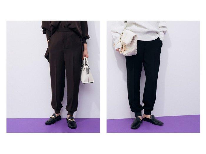 【ADAM ET ROPE'/アダム エ ロペ】の【セットアップ対応】リラックスジョグパンツ 【パンツ】おすすめ!人気、トレンド・レディースファッションの通販 おすすめ人気トレンドファッション通販アイテム 人気、トレンドファッション・服の通販 founy(ファニー) ファッション Fashion レディースファッション WOMEN セットアップ Setup パンツ Pants ショート ジーンズ ストラップサンダル ストレッチ スリーブ セットアップ センター なめらか ボトム ポケット リラックス ロング A/W・秋冬 AW・Autumn/Winter・FW・Fall-Winter 2021年 2021 2021-2022秋冬・A/W AW・Autumn/Winter・FW・Fall-Winter・2021-2022 おすすめ Recommend |ID:crp329100000071355