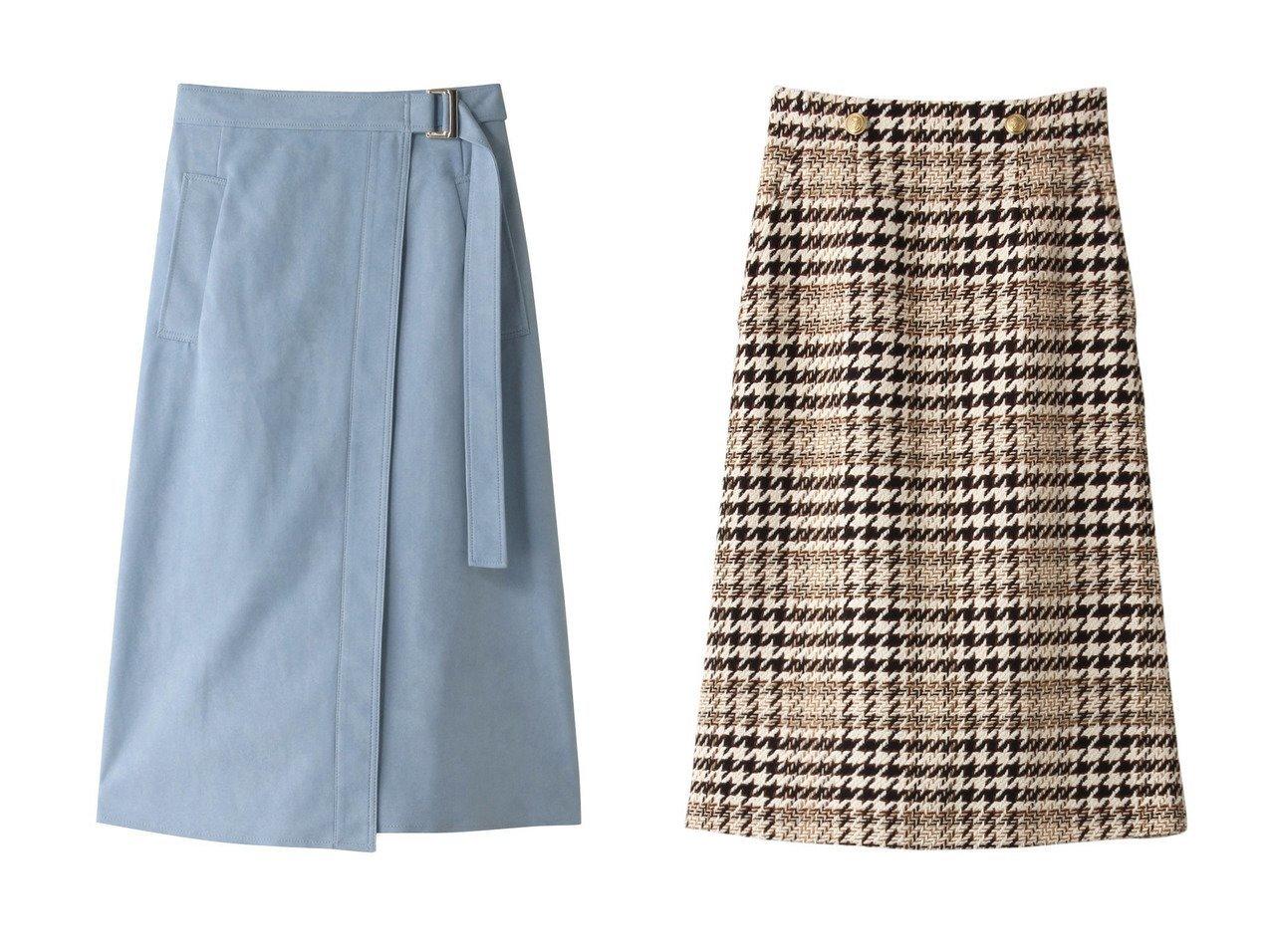【allureville/アルアバイル】のフェイクスエードラップライクスカート&ビッグチェックAラインスカート 【スカート】おすすめ!人気、トレンド・レディースファッションの通販 おすすめで人気の流行・トレンド、ファッションの通販商品 インテリア・家具・メンズファッション・キッズファッション・レディースファッション・服の通販 founy(ファニー) https://founy.com/ ファッション Fashion レディースファッション WOMEN スカート Skirt ロングスカート Long Skirt Aライン/フレアスカート Flared A-Line Skirts A/W・秋冬 AW・Autumn/Winter・FW・Fall-Winter シンプル スリット フェイクスエード ラップ ロング |ID:crp329100000071356