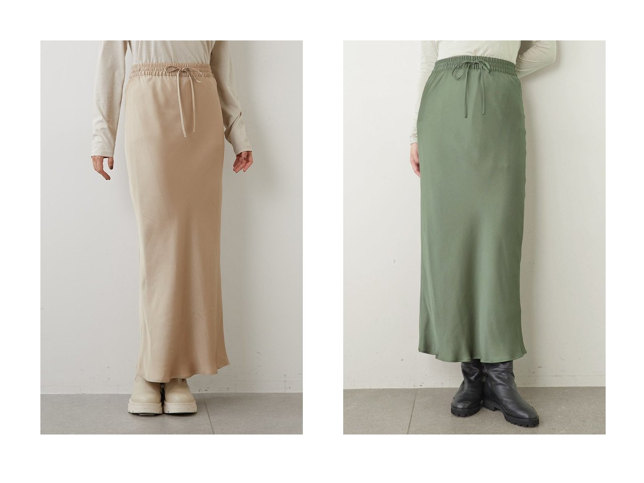 【Whim Gazette/ウィムガゼット】のピーチサテンスカート 【スカート】おすすめ!人気、トレンド・レディースファッションの通販 おすすめで人気の流行・トレンド、ファッションの通販商品 インテリア・家具・メンズファッション・キッズファッション・レディースファッション・服の通販 founy(ファニー) https://founy.com/ ファッション Fashion レディースファッション WOMEN スカート Skirt ロングスカート Long Skirt サテン トレンド バイアス マーメイド ロング A/W・秋冬 AW・Autumn/Winter・FW・Fall-Winter |ID:crp329100000071362