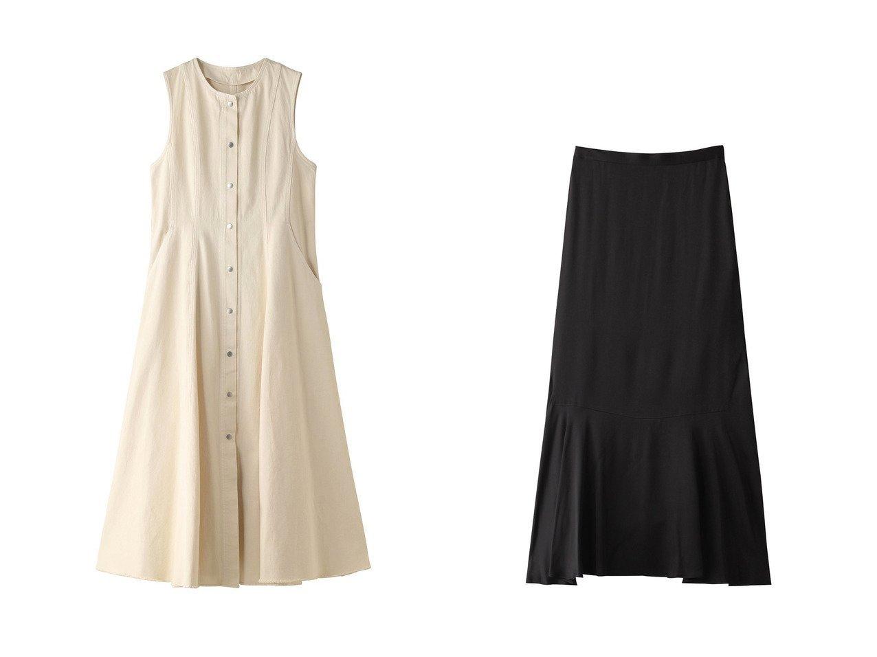 【GALLARDAGALANTE/ガリャルダガランテ】のコットンツイルジャンパースカート&【DEPAREILLE/デパリエ】の裾フレアスカート 【スカート】おすすめ!人気、トレンド・レディースファッションの通販 おすすめで人気の流行・トレンド、ファッションの通販商品 インテリア・家具・メンズファッション・キッズファッション・レディースファッション・服の通販 founy(ファニー) https://founy.com/ ファッション Fashion レディースファッション WOMEN スカート Skirt Aライン/フレアスカート Flared A-Line Skirts ロングスカート Long Skirt カットソー シェイプ チュニック フィット フレア ロング |ID:crp329100000071366