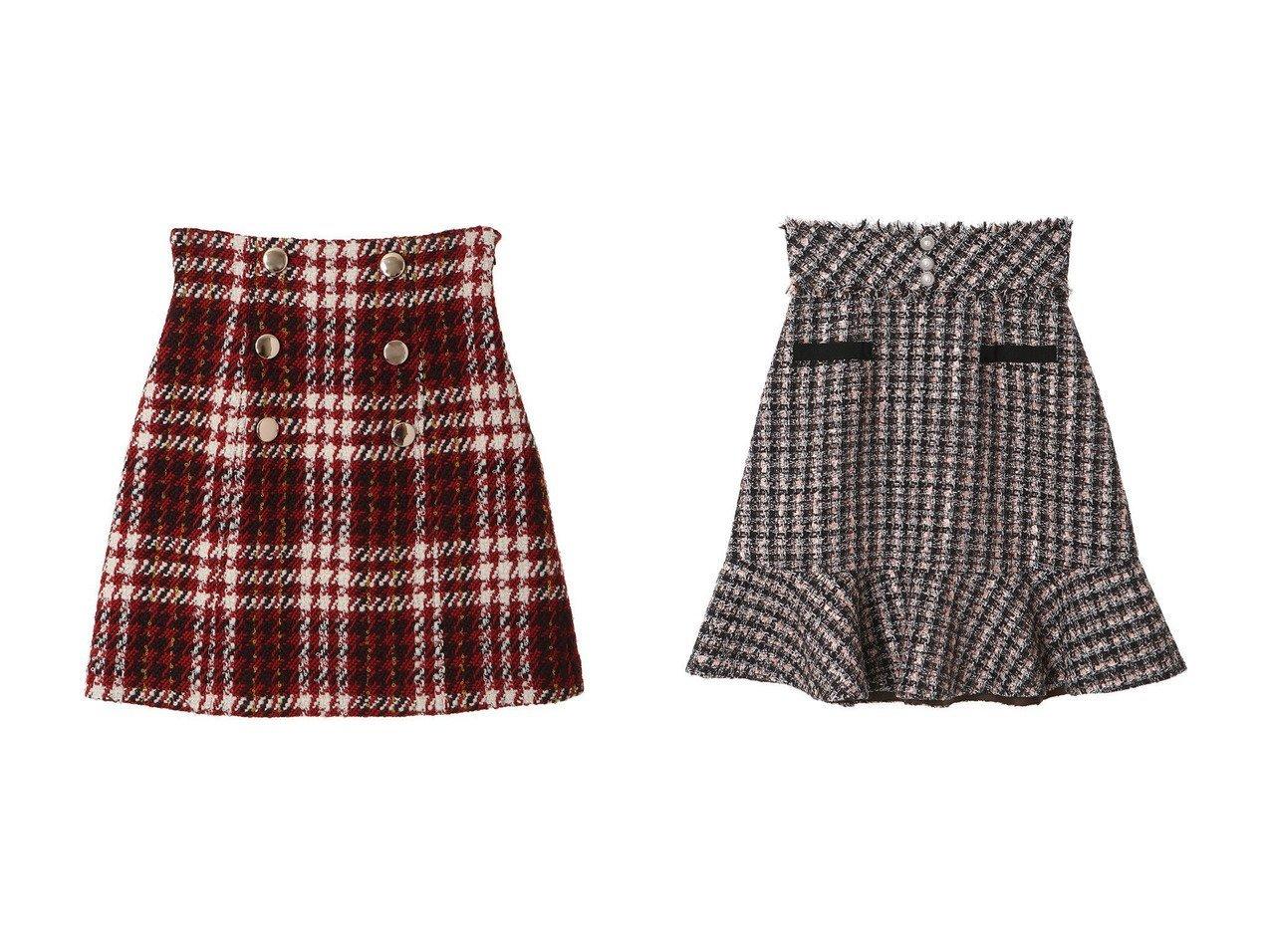 【31 Sons de mode/トランテアン ソン ドゥ モード】のチェック台形スカート&裾フリルツイードスカート 【スカート】おすすめ!人気、トレンド・レディースファッションの通販 おすすめで人気の流行・トレンド、ファッションの通販商品 インテリア・家具・メンズファッション・キッズファッション・レディースファッション・服の通販 founy(ファニー) https://founy.com/ ファッション Fashion レディースファッション WOMEN スカート Skirt 台形スカート Trapezoid Skirt コンパクト シンプル チェック 台形 ミニスカート ロング 冬 Winter A/W・秋冬 AW・Autumn/Winter・FW・Fall-Winter 2021年 2021 2021-2022秋冬・A/W AW・Autumn/Winter・FW・Fall-Winter・2021-2022 |ID:crp329100000071369