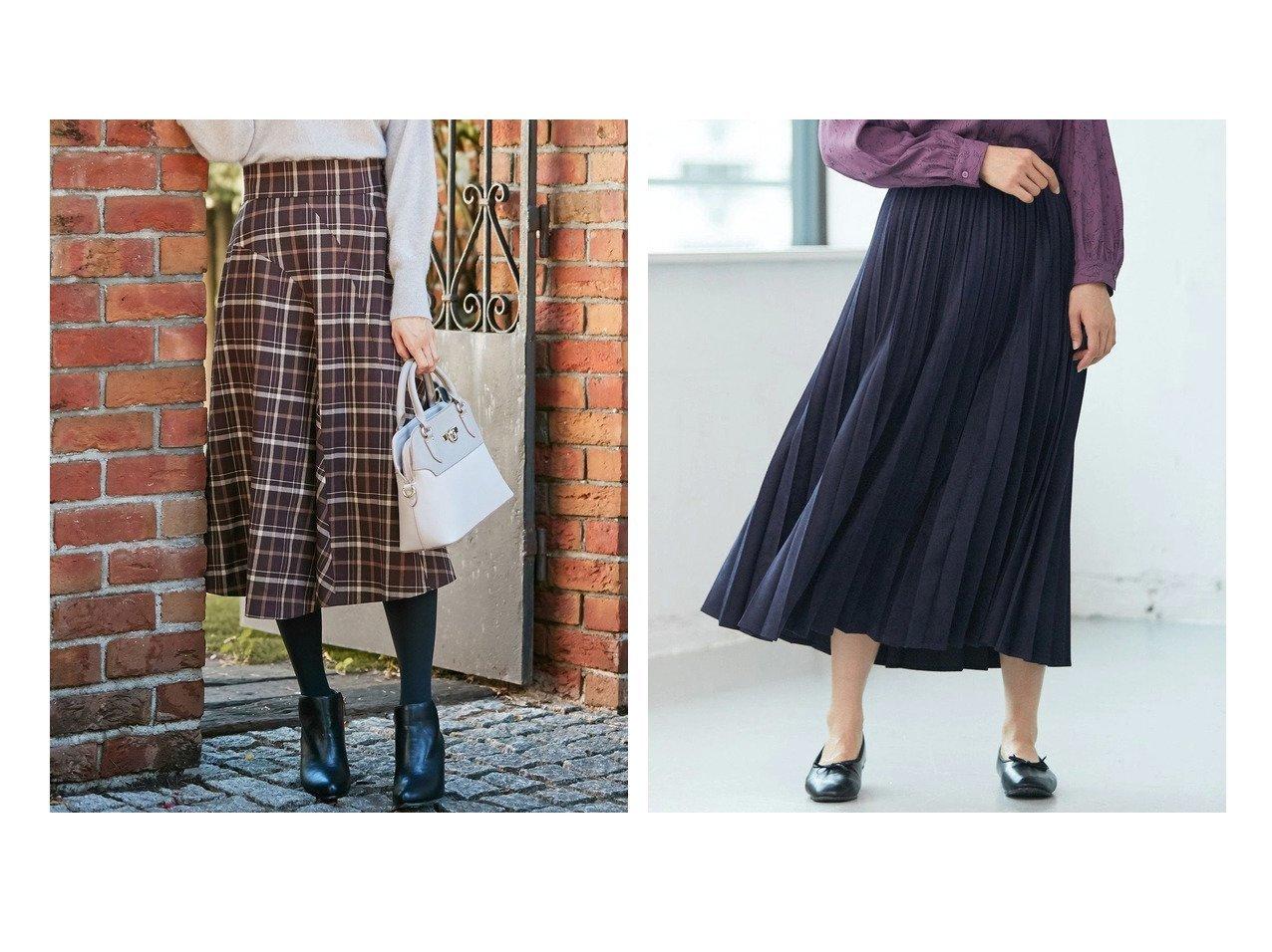 【any SiS/エニィ スィス】の【洗える】アシンメトリーフレア スカート&【any FAM/エニィファム】のサンディングピーチチンツ プリーツスカート 【スカート】おすすめ!人気、トレンド・レディースファッションの通販 おすすめで人気の流行・トレンド、ファッションの通販商品 インテリア・家具・メンズファッション・キッズファッション・レディースファッション・服の通販 founy(ファニー) https://founy.com/ ファッション Fashion レディースファッション WOMEN スカート Skirt Aライン/フレアスカート Flared A-Line Skirts プリーツスカート Pleated Skirts 送料無料 Free Shipping アシンメトリー クラシカル チェック ツイード フレア フロント モノトーン 洗える フェミニン プリーツ 人気 |ID:crp329100000071373
