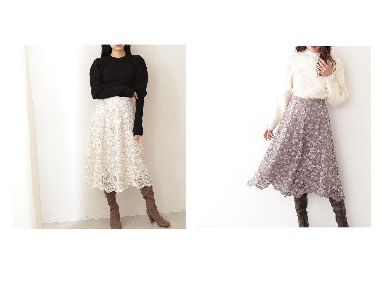 【JILL by JILLSTUART/ジルバイジルスチュアート】のイレヘムモールレーススカート 【スカート】おすすめ!人気、トレンド・レディースファッションの通販 おすすめで人気の流行・トレンド、ファッションの通販商品 インテリア・家具・メンズファッション・キッズファッション・レディースファッション・服の通販 founy(ファニー) https://founy.com/ ファッション Fashion レディースファッション WOMEN スカート Skirt NEW・新作・新着・新入荷 New Arrivals クラシカル フラワー レース 再入荷 Restock/Back in Stock/Re Arrival |ID:crp329100000071378