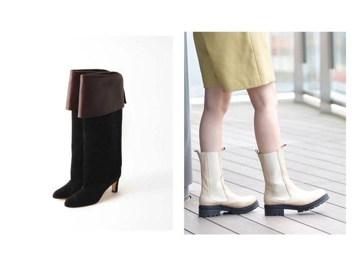 【Ray BEAMS/レイ ビームス】のサイドゴア ブーツ&【IENA/イエナ】の【NEBULONI E./ネブローニ】ロングブーツ 【シューズ・靴】おすすめ!人気、トレンド・レディースファッションの通販 おすすめ人気トレンドファッション通販アイテム 人気、トレンドファッション・服の通販 founy(ファニー) ファッション Fashion レディースファッション WOMEN NEW・新作・新着・新入荷 New Arrivals 2021年 2021 2021-2022秋冬・A/W AW・Autumn/Winter・FW・Fall-Winter・2021-2022 A/W・秋冬 AW・Autumn/Winter・FW・Fall-Winter イタリア シューズ ショート ハンド ロング おすすめ Recommend ジュート スマート トレンド ハーフ フォルム ミドル 厚底 |ID:crp329100000071403