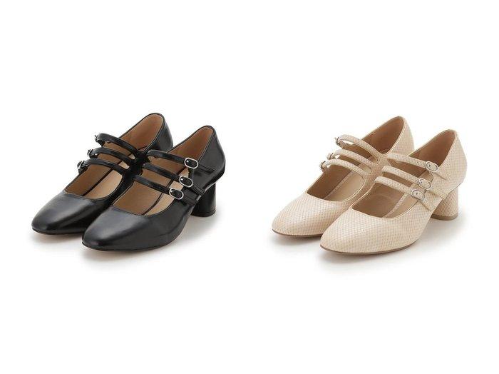 【FURFUR/ファーファー】のトリプルストラップパンプス 【シューズ・靴】おすすめ!人気、トレンド・レディースファッションの通販 おすすめ人気トレンドファッション通販アイテム 人気、トレンドファッション・服の通販 founy(ファニー) ファッション Fashion レディースファッション WOMEN クラシカル シューズ ベーシック |ID:crp329100000071410