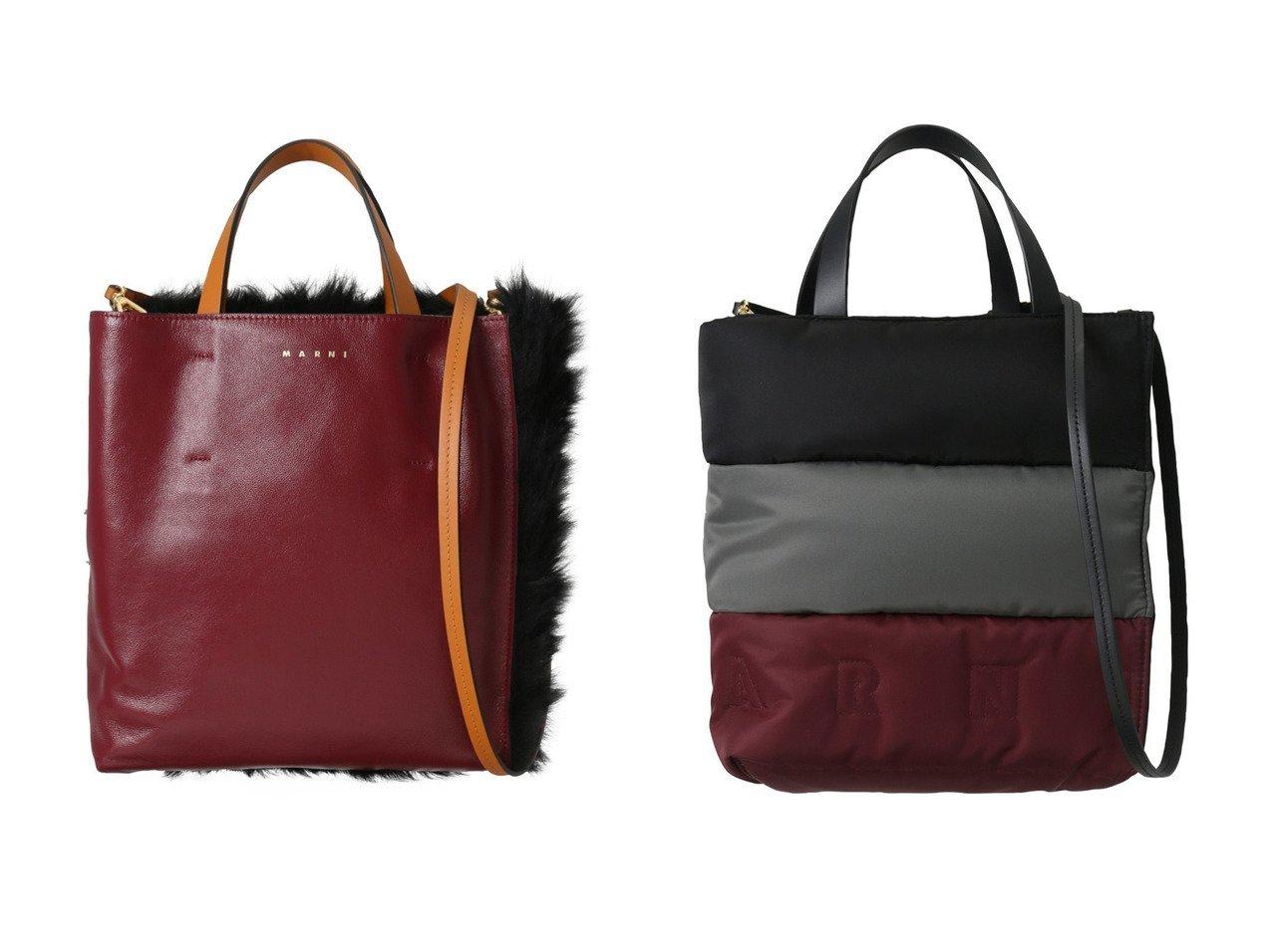 【MARNI/マルニ】のMUSEO SOFT SMALL ナイロンコンビ2wayトートバッグ&MUSEO SOFT SMALL ファーコンビ2wayトートバッグ 【バッグ・鞄】おすすめ!人気、トレンド・レディースファッションの通販 おすすめで人気の流行・トレンド、ファッションの通販商品 インテリア・家具・メンズファッション・キッズファッション・レディースファッション・服の通販 founy(ファニー) https://founy.com/ ファッション Fashion レディースファッション WOMEN バッグ Bag なめらか コンビ パーティ フェイクファー A/W・秋冬 AW・Autumn/Winter・FW・Fall-Winter フォルム  ID:crp329100000071414