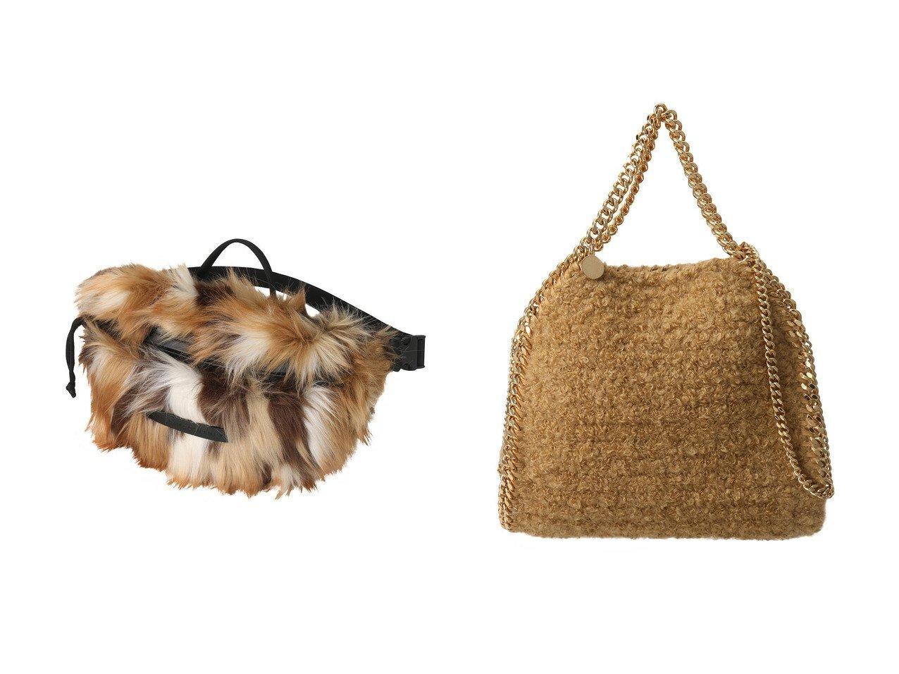 【STELLA McCARTNEY/ステラ マッカートニー】のFalabella Wintery 2wayミニトートバッグ&Fur Free Fur パッチワークベルトバッグ 【バッグ・鞄】おすすめ!人気、トレンド・レディースファッションの通販 おすすめで人気の流行・トレンド、ファッションの通販商品 インテリア・家具・メンズファッション・キッズファッション・レディースファッション・服の通販 founy(ファニー) https://founy.com/ ファッション Fashion レディースファッション WOMEN バッグ Bag ベルト Belts ポーチ Pouches A/W・秋冬 AW・Autumn/Winter・FW・Fall-Winter ハンドバッグ ファブリック ポケット モコモコ フェイクファー ラップ  ID:crp329100000071417