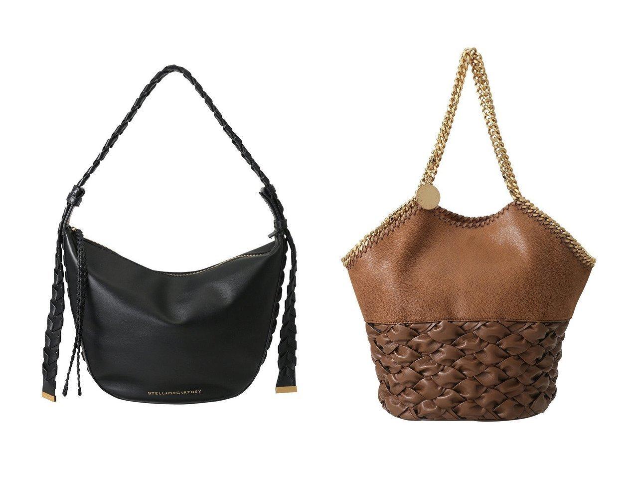 【STELLA McCARTNEY/ステラ マッカートニー】のFalabella Half&Half ミディアムトートバッグ&Medium Zip Eco ショルダーバッグ 【バッグ・鞄】おすすめ!人気、トレンド・レディースファッションの通販 おすすめで人気の流行・トレンド、ファッションの通販商品 インテリア・家具・メンズファッション・キッズファッション・レディースファッション・服の通販 founy(ファニー) https://founy.com/ ファッション Fashion レディースファッション WOMEN バッグ Bag スタイリッシュ フォルム フロント ポケット ラップ シルバー チェーン ドッキング  ID:crp329100000071418
