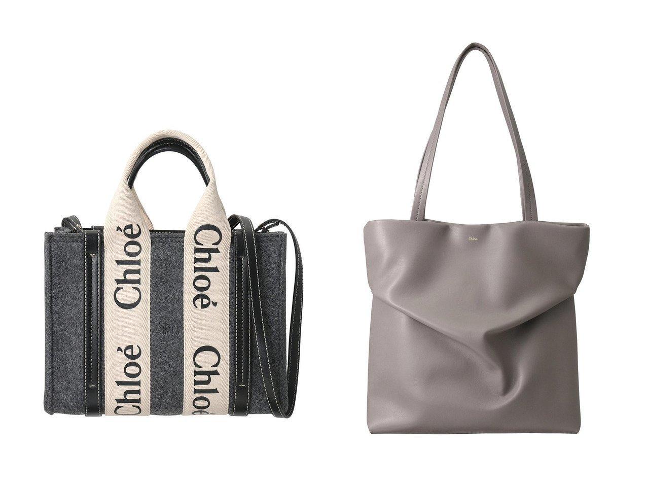 【CHLOE/クロエ】のWOODY SMALL 2wayミニトートバッグ&JUDY トートバッグ 【バッグ・鞄】おすすめ!人気、トレンド・レディースファッションの通販 おすすめで人気の流行・トレンド、ファッションの通販商品 インテリア・家具・メンズファッション・キッズファッション・レディースファッション・服の通販 founy(ファニー) https://founy.com/ ファッション Fashion レディースファッション WOMEN バッグ Bag コンパクト ファブリック ポケット  ID:crp329100000071419