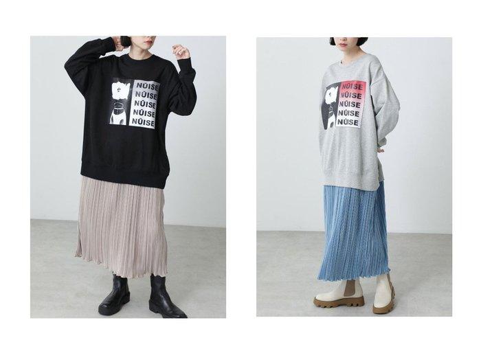 【ROSE BUD/ローズバッド】のグラフィックプリントスウェットレイヤードドレス 【ワンピース・ドレス】おすすめ!人気、トレンド・レディースファッションの通販 おすすめ人気トレンドファッション通販アイテム 人気、トレンドファッション・服の通販 founy(ファニー) ファッション Fashion レディースファッション WOMEN ワンピース Dress ドレス Party Dresses チュニック Tunic おすすめ Recommend グラフィック シャイニー スニーカー チュニック フロント プリント プリーツ ロング 人気 冬 Winter |ID:crp329100000071489