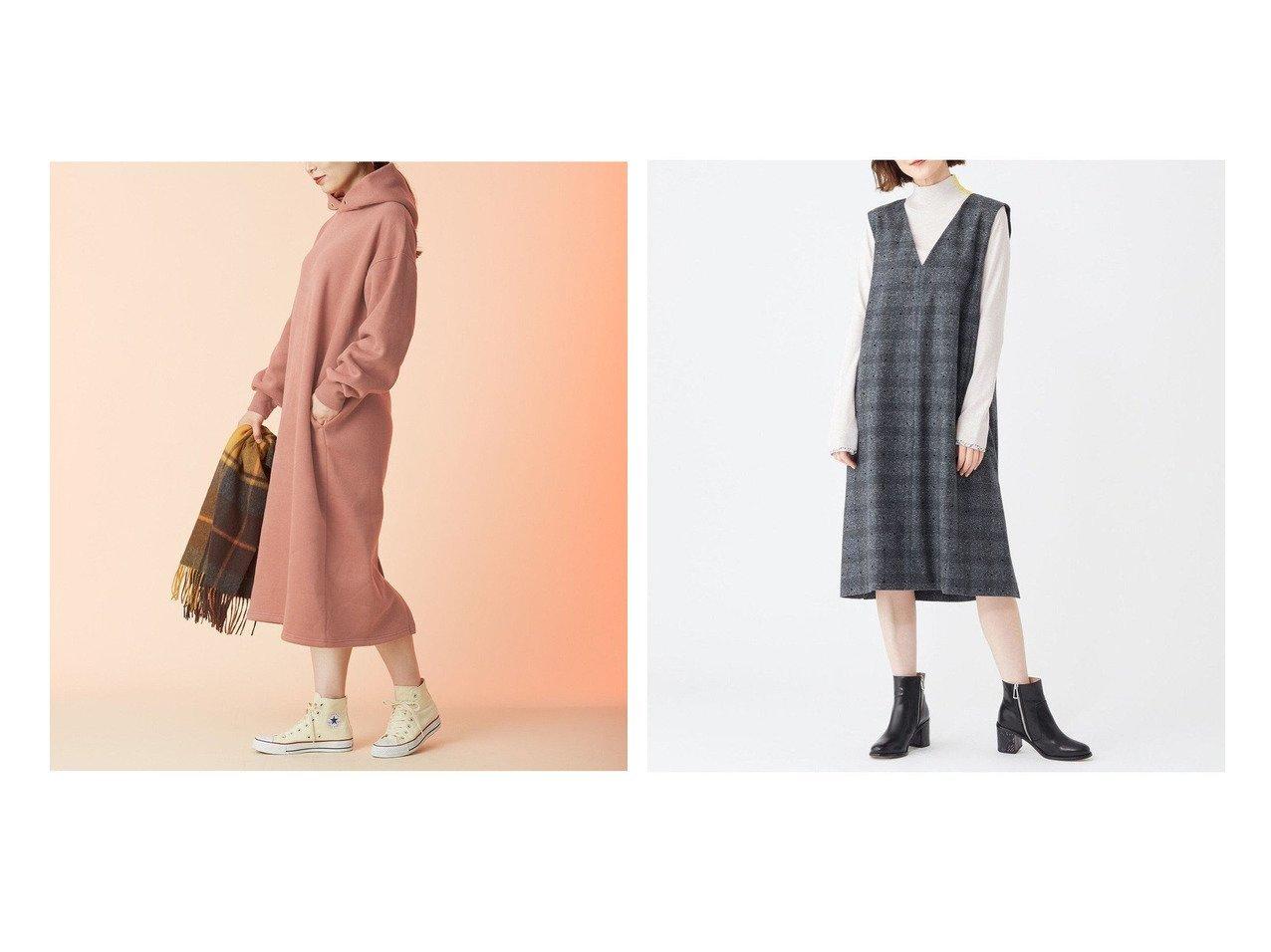 【any FAM/エニィファム】の柔らかウォームスウェット ワンピース&【Paul Smith/ポール スミス】のフロックオンチェック ワンピース 【ワンピース・ドレス】おすすめ!人気、トレンド・レディースファッションの通販 おすすめで人気の流行・トレンド、ファッションの通販商品 インテリア・家具・メンズファッション・キッズファッション・レディースファッション・服の通販 founy(ファニー) https://founy.com/ ファッション Fashion レディースファッション WOMEN ワンピース Dress 送料無料 Free Shipping イタリア インナー シンプル スリット チェック ツィード ドット ドレス ネップ メランジ お家時間・ステイホーム Home Time/Stay Home スウェット ポケット マキシ 楽ちん |ID:crp329100000071503