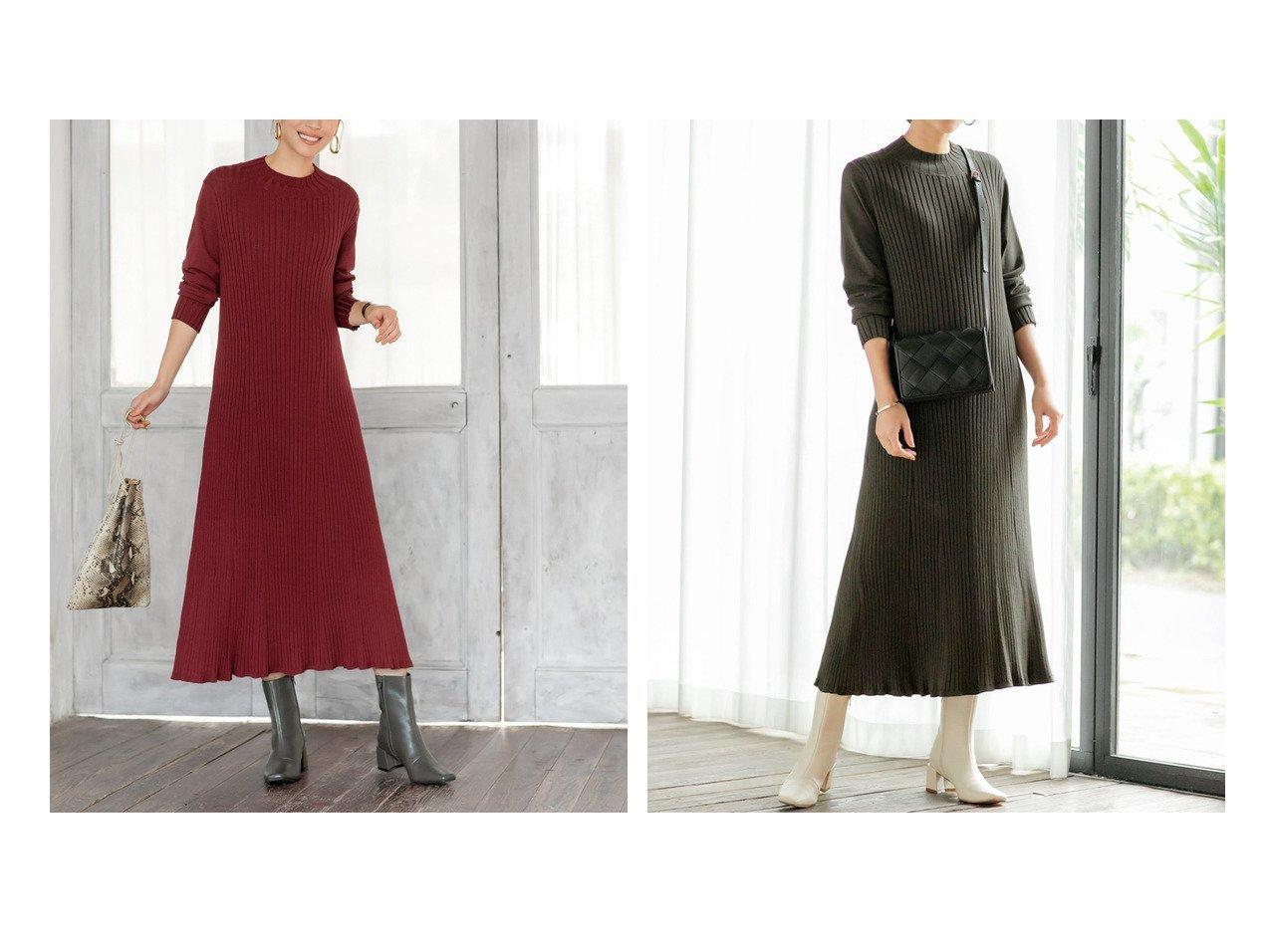 【STYLE DELI/スタイルデリ】の【LUXE】ぴったりしないリブニットワンピースB 【ワンピース・ドレス】おすすめ!人気、トレンド・レディースファッションの通販 おすすめで人気の流行・トレンド、ファッションの通販商品 インテリア・家具・メンズファッション・キッズファッション・レディースファッション・服の通販 founy(ファニー) https://founy.com/ ファッション Fashion レディースファッション WOMEN ワンピース Dress ニットワンピース Knit Dresses スタイリッシュ スリム タイツ 定番 Standard なめらか ハイネック フィット フォルム フラット フレア ペチコート ポケット リブニット ワイドリブ 再入荷 Restock/Back in Stock/Re Arrival |ID:crp329100000071509