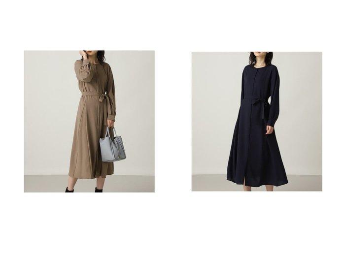 【NATURAL BEAUTY BASIC/ナチュラル ビューティー ベーシック】のジョーゼットゴアードワンピース 【ワンピース・ドレス】おすすめ!人気、トレンド・レディースファッションの通販 おすすめ人気トレンドファッション通販アイテム 人気、トレンドファッション・服の通販 founy(ファニー)  ファッション Fashion レディースファッション WOMEN ワンピース Dress 2021年 2021 2021-2022秋冬・A/W AW・Autumn/Winter・FW・Fall-Winter・2021-2022 A/W・秋冬 AW・Autumn/Winter・FW・Fall-Winter ジョーゼット フレア  ID:crp329100000071523
