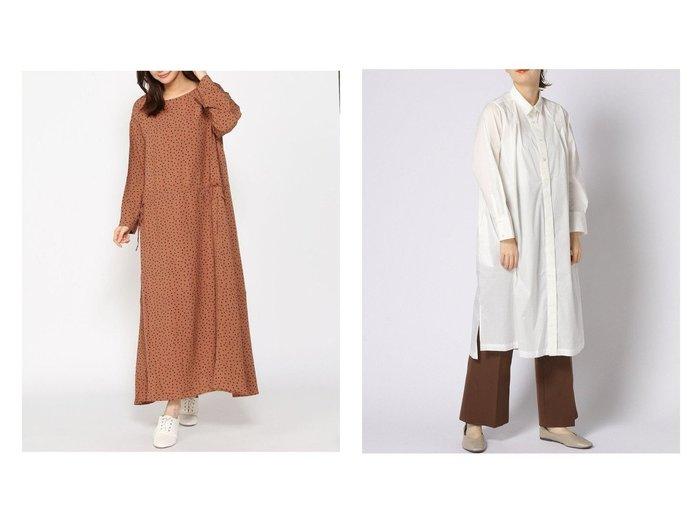 【Utao:/ウタオ】のシワニナリニクイRCOP&NA-RドットドロストOP おすすめ!人気、トレンド・レディースファッションの通販 おすすめ人気トレンドファッション通販アイテム 人気、トレンドファッション・服の通販 founy(ファニー) ファッション Fashion レディースファッション WOMEN ワンピース Dress シャツワンピース Shirt Dresses インナー フロント ロング 楽ちん NEW・新作・新着・新入荷 New Arrivals ドット プリント リネン リボン 長袖 |ID:crp329100000071724