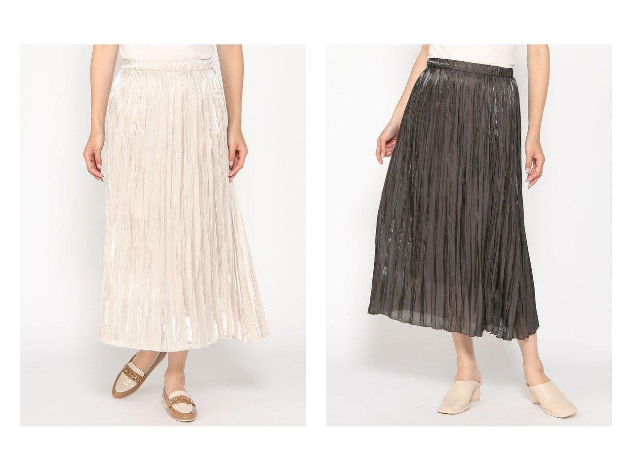 【LOWRYS FARM/ローリーズファーム】のエアリーブライトスカート おすすめ!人気、トレンド・レディースファッションの通販 おすすめで人気の流行・トレンド、ファッションの通販商品 インテリア・家具・メンズファッション・キッズファッション・レディースファッション・服の通販 founy(ファニー) https://founy.com/ ファッション Fashion レディースファッション WOMEN スカート Skirt プリーツスカート Pleated Skirts ギャザー サテン ショート ブライト プリーツ リラックス |ID:crp329100000071739