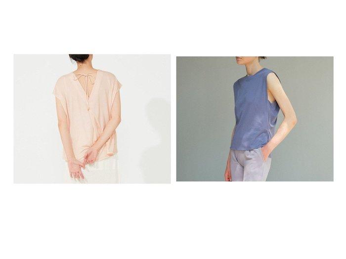 【Chacott/チャコット】のAラインバックシャンTシャツ&フレンチスリーブTシャツ 【スポーツウェア・ヨガ・フィットネス・ダイエット】おすすめ!人気、トレンド・レディースファッションの通販 おすすめ人気トレンドファッション通販アイテム 人気、トレンドファッション・服の通販 founy(ファニー)  ファッション Fashion レディースファッション WOMEN トップス・カットソー Tops/Tshirt シャツ/ブラウス Shirts/Blouses ロング / Tシャツ T-Shirts インド シルク ストレッチ スリット スリーブ なめらか フレンチ ボトム おすすめ Recommend |ID:crp329100000071756