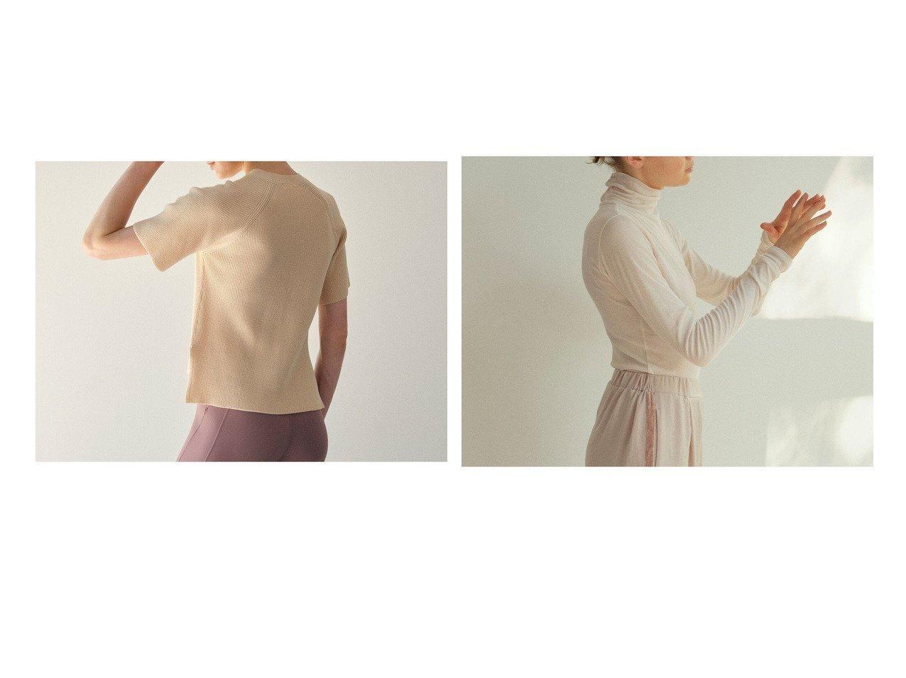 【Chacott/チャコット】のワッフルニット&ロングスリーブテレコハイネック 【スポーツウェア・ヨガ・フィットネス・ダイエット】おすすめ!人気、トレンド・レディースファッションの通販 おすすめで人気の流行・トレンド、ファッションの通販商品 インテリア・家具・メンズファッション・キッズファッション・レディースファッション・服の通販 founy(ファニー) https://founy.com/ ファッション Fashion レディースファッション WOMEN トップス・カットソー Tops/Tshirt ニット Knit Tops インド インナー シアー ストレッチ ハイネック フィット リラックス 再入荷 Restock/Back in Stock/Re Arrival おすすめ Recommend ラベンダー ワッフル  ID:crp329100000071776