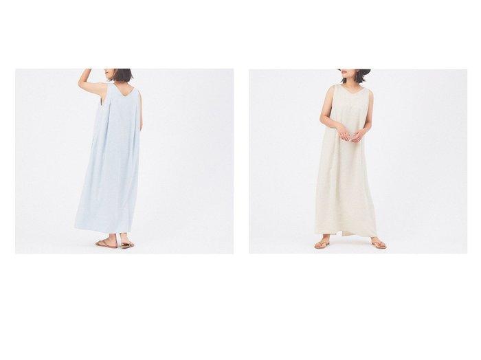 【qualite/カリテ】のリネンライク2WAYワンピース 【ワンピース・ドレス】おすすめ!人気、トレンド・レディースファッションの通販 おすすめ人気トレンドファッション通販アイテム 人気、トレンドファッション・服の通販 founy(ファニー)  ファッション Fashion レディースファッション WOMEN ワンピース Dress シャツワンピース Shirt Dresses NEW・新作・新着・新入荷 New Arrivals スリット マキシ 夏 Summer  ID:crp329100000071843