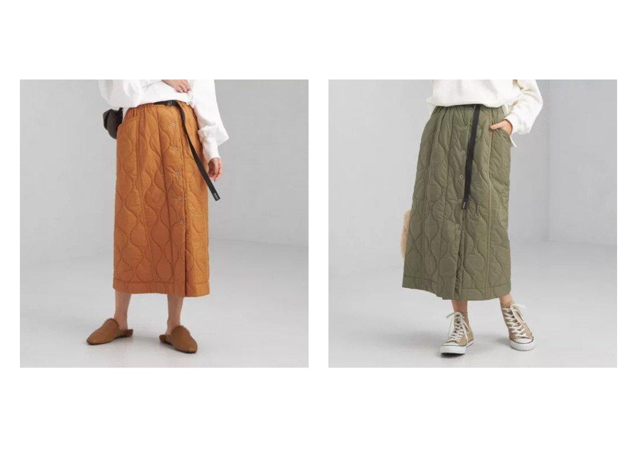 【green label relaxing / UNITED ARROWS/グリーンレーベル リラクシング / ユナイテッドアローズ】の【別注】キルト スカート 別注・限定・コラボなど、おすすめ!人気、トレンド・レディースファッションの通販  おすすめで人気の流行・トレンド、ファッションの通販商品 インテリア・家具・メンズファッション・キッズファッション・レディースファッション・服の通販 founy(ファニー) https://founy.com/ ファッション Fashion レディースファッション WOMEN スカート Skirt オレンジ キルティング キルト シューズ ジャケット スペシャル セットアップ ポケット 別注 マキシ ロング A/W・秋冬 AW・Autumn/Winter・FW・Fall-Winter おすすめ Recommend  ID:crp329100000071882