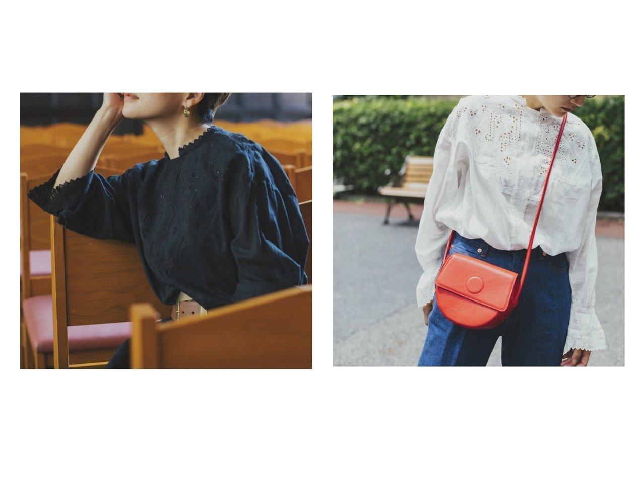 【studio CLIP/スタディオ クリップ】の《高山都さんコラボ》アンティーク風クラフトブラウス 【プチプライス・低価格】おすすめ!人気、トレンド・レディースファッションの通販 おすすめで人気の流行・トレンド、ファッションの通販商品 インテリア・家具・メンズファッション・キッズファッション・レディースファッション・服の通販 founy(ファニー) https://founy.com/ ファッション Fashion レディースファッション WOMEN トップス・カットソー Tops/Tshirt シャツ/ブラウス Shirts/Blouses おすすめ Recommend アンティーク インナー コラボ コンパクト サロペット スリーブ フロント レース ワイド 人気 秋 Autumn/Fall |ID:crp329100000072083