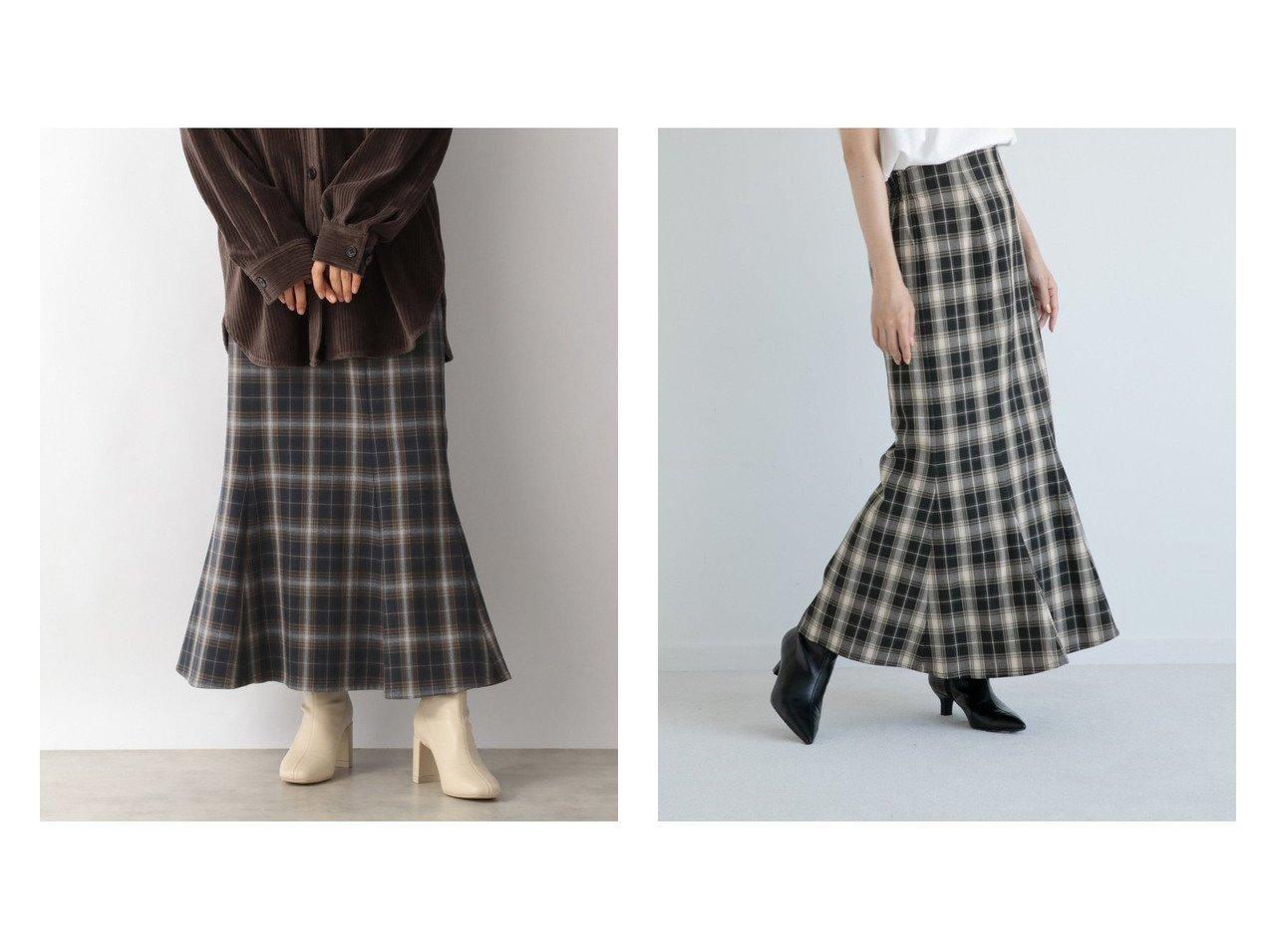 【LOWRYS FARM/ローリーズファーム】のチェックマーメイドスカート 【プチプライス・低価格】おすすめ!人気、トレンド・レディースファッションの通販 おすすめで人気の流行・トレンド、ファッションの通販商品 インテリア・家具・メンズファッション・キッズファッション・レディースファッション・服の通販 founy(ファニー) https://founy.com/ ファッション Fashion レディースファッション WOMEN スカート Skirt ロングスカート Long Skirt ロング 再入荷 Restock/Back in Stock/Re Arrival |ID:crp329100000072084