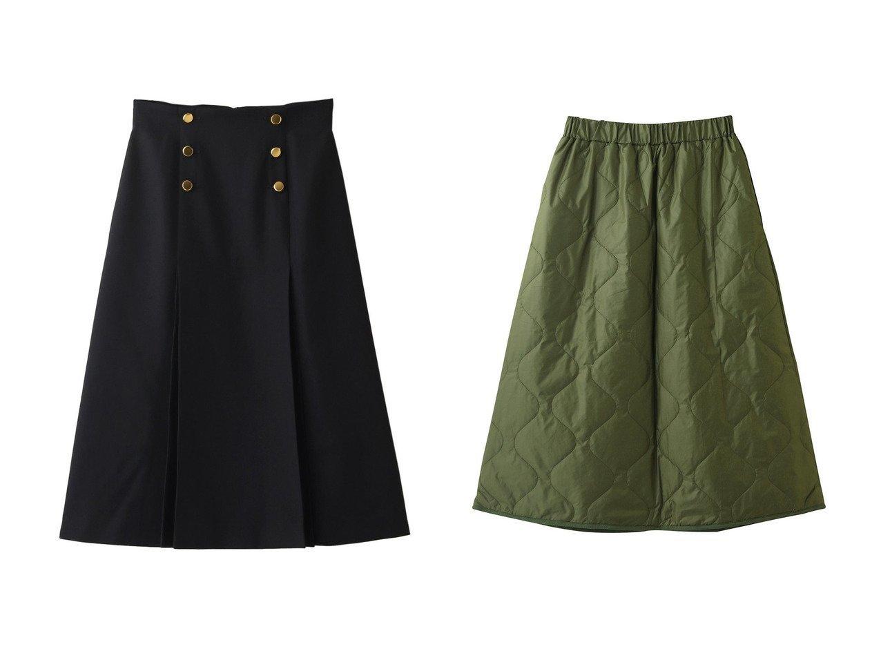 【ANAYI/アナイ】のコンパクトサージタックスカート&【ROSE BUD/ローズバッド】の【AFFECTISM】キルティングジップスカート 【スカート】おすすめ!人気、トレンド・レディースファッションの通販 おすすめで人気の流行・トレンド、ファッションの通販商品 インテリア・家具・メンズファッション・キッズファッション・レディースファッション・服の通販 founy(ファニー) https://founy.com/ ファッション Fashion レディースファッション WOMEN スカート Skirt ロングスカート Long Skirt なめらか シンプル フロント ロング |ID:crp329100000072099