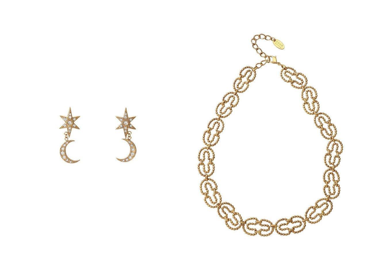 【ADER bijoux/アデル ビジュー】のMOON&STAR ピアス&CUT STEEL O ネックレス 【アクセサリー・ジュエリー】おすすめ!人気、トレンド・レディースファッションの通販 おすすめで人気の流行・トレンド、ファッションの通販商品 インテリア・家具・メンズファッション・キッズファッション・レディースファッション・服の通販 founy(ファニー) https://founy.com/ ファッション Fashion レディースファッション WOMEN ジュエリー Jewelry リング Rings イヤリング Earrings ネックレス Necklaces イヤリング モチーフ 人気 チェーン デニム ネックレス モダン ヴィンテージ  ID:crp329100000072198