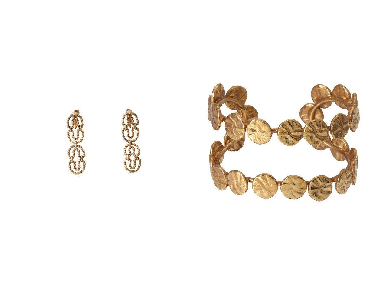 【ADER bijoux/アデル ビジュー】のCUT STEEL O イヤリング&COIN バングル 【アクセサリー・ジュエリー】おすすめ!人気、トレンド・レディースファッションの通販 おすすめで人気の流行・トレンド、ファッションの通販商品 インテリア・家具・メンズファッション・キッズファッション・レディースファッション・服の通販 founy(ファニー) https://founy.com/ ファッション Fashion レディースファッション WOMEN ジュエリー Jewelry リング Rings イヤリング Earrings ブレスレット Bracelets バングル Bangles イヤリング チェーン モダン モチーフ ヴィンテージ A/W・秋冬 AW・Autumn/Winter・FW・Fall-Winter コイン シンプル バングル 今季  ID:crp329100000072199