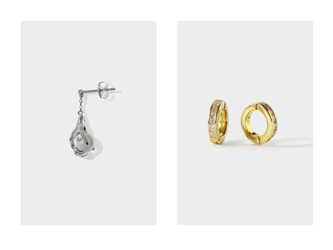 【AYAMI jewelry/アヤミ ジュエリー】のAvec Dinosaur ピアス(片耳用)&Channel Setting イヤリング 【アクセサリー・ジュエリー】おすすめ!人気、トレンド・レディースファッションの通販 おすすめで人気の流行・トレンド、ファッションの通販商品 インテリア・家具・メンズファッション・キッズファッション・レディースファッション・服の通販 founy(ファニー) https://founy.com/ ファッション Fashion レディースファッション WOMEN ジュエリー Jewelry リング Rings イヤリング Earrings イヤリング コレクション フォルム 再入荷 Restock/Back in Stock/Re Arrival 片耳 おすすめ Recommend フォーマル  ID:crp329100000072206