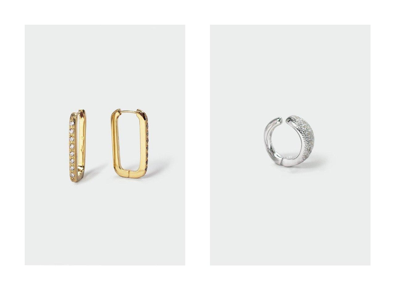 【AYAMI jewelry/アヤミ ジュエリー】のMarquise Pave イヤリング(片耳用)&Rectangle ピアス 【アクセサリー・ジュエリー】おすすめ!人気、トレンド・レディースファッションの通販 おすすめで人気の流行・トレンド、ファッションの通販商品 インテリア・家具・メンズファッション・キッズファッション・レディースファッション・服の通販 founy(ファニー) https://founy.com/ ファッション Fashion レディースファッション WOMEN ジュエリー Jewelry リング Rings イヤリング Earrings イヤリング 再入荷 Restock/Back in Stock/Re Arrival フォルム ラグジュアリー 片耳  ID:crp329100000072212