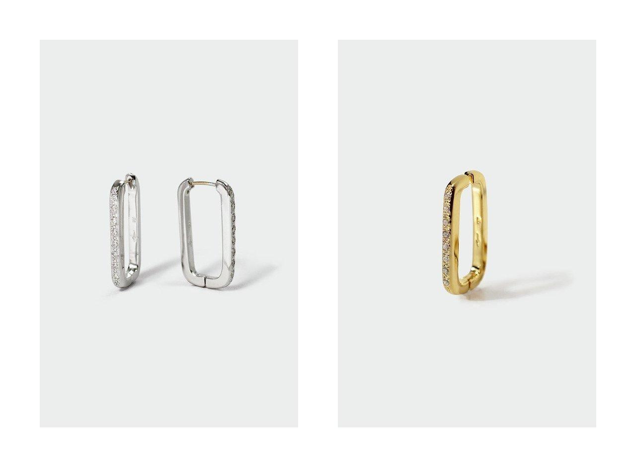 【AYAMI jewelry/アヤミ ジュエリー】のRectangle ピアス&Rectangle イヤリング(片耳用) 【アクセサリー・ジュエリー】おすすめ!人気、トレンド・レディースファッションの通販 おすすめで人気の流行・トレンド、ファッションの通販商品 インテリア・家具・メンズファッション・キッズファッション・レディースファッション・服の通販 founy(ファニー) https://founy.com/ ファッション Fashion レディースファッション WOMEN ジュエリー Jewelry リング Rings イヤリング Earrings イヤリング 再入荷 Restock/Back in Stock/Re Arrival 片耳  ID:crp329100000072213