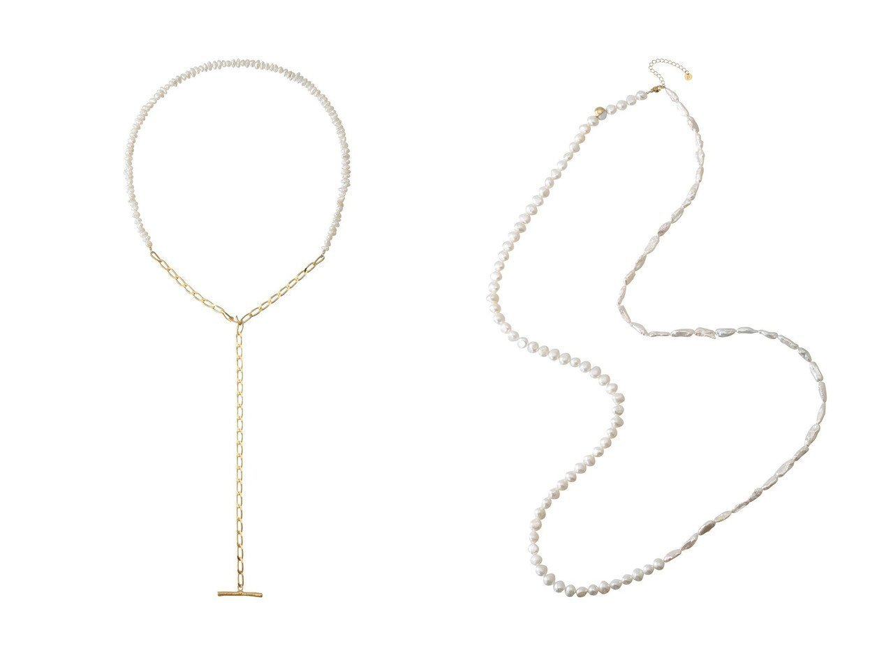 【Preek/プリーク】のBEADS PEARL LALIETTE ネックレス&ROPE HALF&HALF ネックレス 【アクセサリー・ジュエリー】おすすめ!人気、トレンド・レディースファッションの通販 おすすめで人気の流行・トレンド、ファッションの通販商品 インテリア・家具・メンズファッション・キッズファッション・レディースファッション・服の通販 founy(ファニー) https://founy.com/ ファッション Fashion レディースファッション WOMEN ジュエリー Jewelry ネックレス Necklaces シンプル ネックレス バロック パーティ パール プレート ロング コンビ チェーン  ID:crp329100000072219