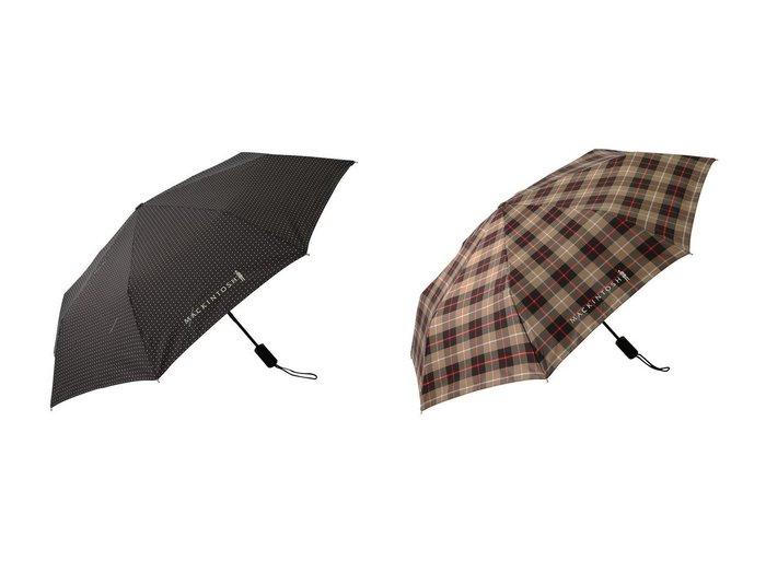【martinique/マルティニーク】の【MACKINTOSH】折りたたみ傘&【MACKINTOSH】折りたたみ傘 おすすめ!人気、トレンド・レディースファッションの通販 おすすめ人気トレンドファッション通販アイテム 人気、トレンドファッション・服の通販 founy(ファニー) ファッション Fashion レディースファッション WOMEN 傘 / レイングッズ Umbrellas/Rainwear おすすめ Recommend コンパクト シンプル チェック ハンカチ フェミニン プリント ベーシック 傘 時計 軽量  ID:crp329100000072241