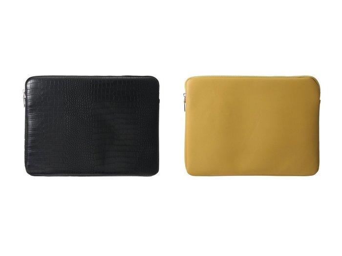 【HVISK/ヴィスク】のMATTE CROCO PCケース(13インチ)&SOFT PCケース(13インチ) おすすめ!人気、トレンド・レディースファッションの通販 おすすめ人気トレンドファッション通販アイテム 人気、トレンドファッション・服の通販 founy(ファニー)  ファッション Fashion レディースファッション WOMEN クロコ シンプル |ID:crp329100000072253