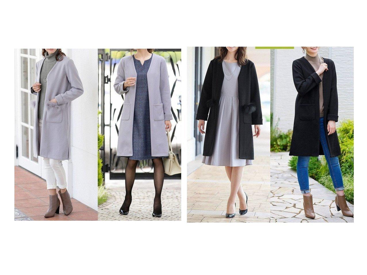 【Tiaclasse/ティアクラッセ】の【2WAY】さらっと羽織れるFOXファーコート おすすめ!人気、トレンド・レディースファッションの通販 おすすめで人気の流行・トレンド、ファッションの通販商品 インテリア・家具・メンズファッション・キッズファッション・レディースファッション・服の通販 founy(ファニー) https://founy.com/ ファッション Fashion レディースファッション WOMEN アウター Coat Outerwear コート Coats ジャケット Jackets 送料無料 Free Shipping おすすめ Recommend ガウン ジャケット ポケット 冬 Winter 無地 秋 Autumn/Fall |ID:crp329100000072350