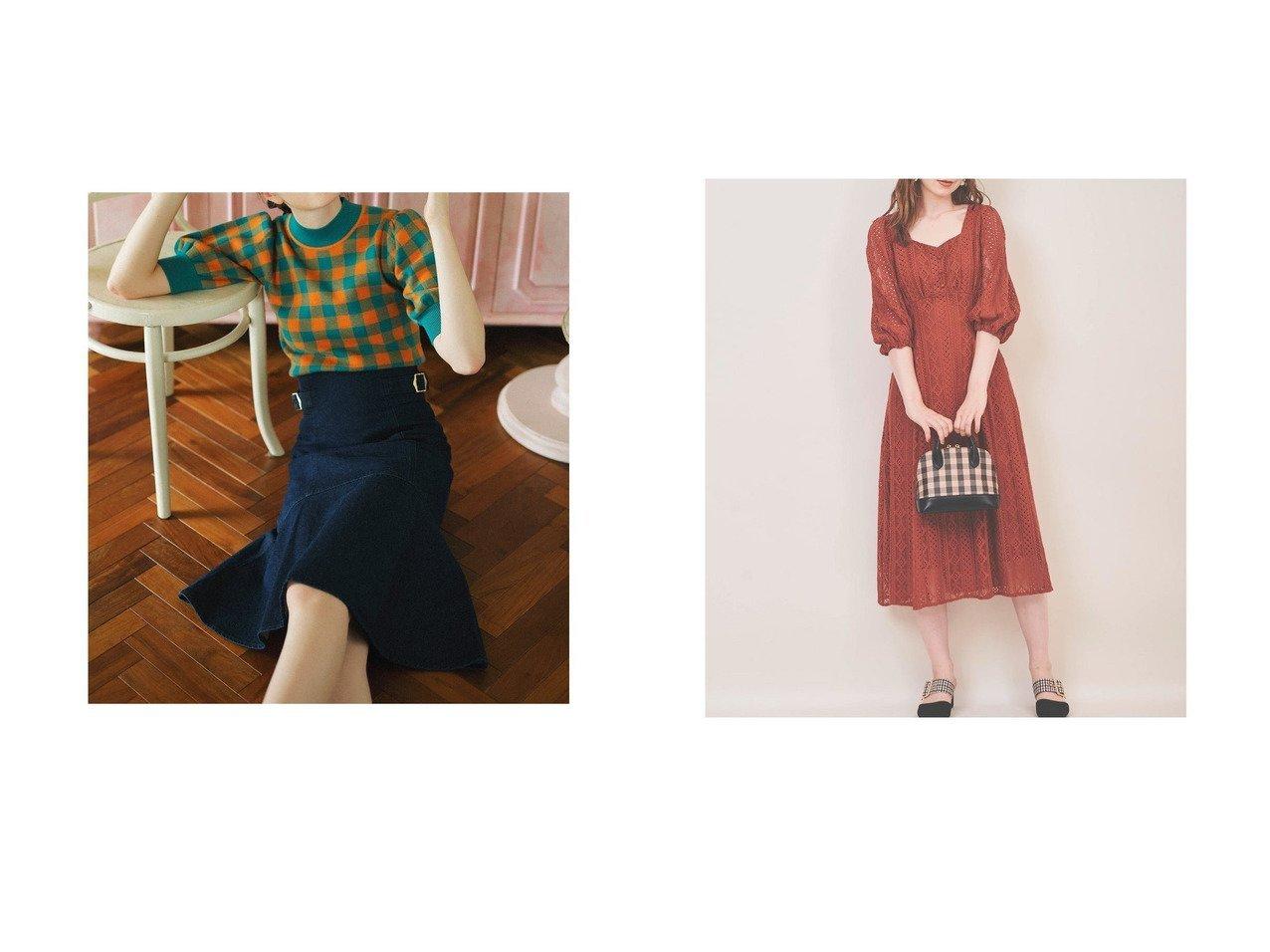 【31 Sons de mode/トランテアン ソン ドゥ モード】のデニムマーメイドスカート&バックレースアップワンピース おすすめ!人気、トレンド・レディースファッションの通販 おすすめで人気の流行・トレンド、ファッションの通販商品 インテリア・家具・メンズファッション・キッズファッション・レディースファッション・服の通販 founy(ファニー) https://founy.com/ ファッション Fashion レディースファッション WOMEN スカート Skirt ワンピース Dress 2021年 2021 2021-2022秋冬・A/W AW・Autumn/Winter・FW・Fall-Winter・2021-2022 A/W・秋冬 AW・Autumn/Winter・FW・Fall-Winter 冬 Winter おすすめ Recommend マーメイド フェミニン レース |ID:crp329100000072363
