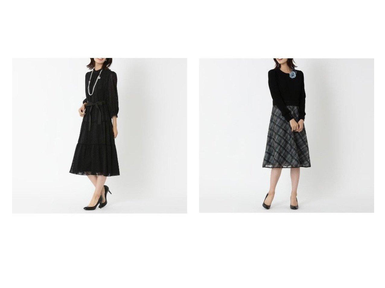 【TO BE CHIC/トゥー ビー シック】のストライプカットジャカード ドレス&エンブロイダリーチェックコンビ ドレス おすすめ!人気、トレンド・レディースファッションの通販 おすすめで人気の流行・トレンド、ファッションの通販商品 インテリア・家具・メンズファッション・キッズファッション・レディースファッション・服の通販 founy(ファニー) https://founy.com/ ファッション Fashion レディースファッション WOMEN ワンピース Dress ドレス Party Dresses ギャザー グログラン シフォン ジャカード ジョーゼット ドレス フェミニン フォーマル フリル リボン オーガンジー サテン シャンブレー チェック フィット フレア 定番 Standard |ID:crp329100000072375