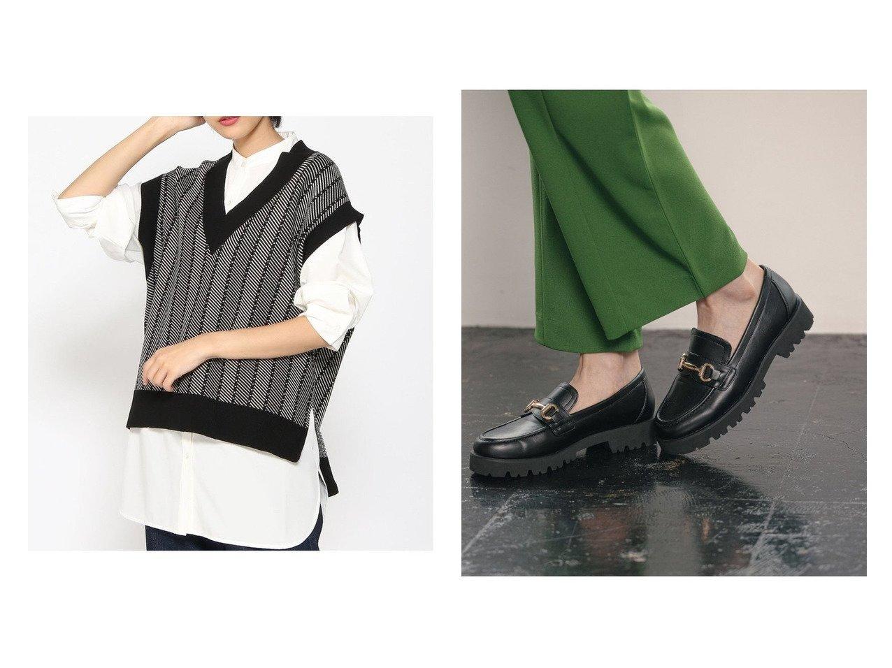 【GLOBAL WORK/グローバルワーク】のアツゾコビットローファー&メルティーガラニットベスト おすすめ!人気、トレンド・レディースファッションの通販 おすすめで人気の流行・トレンド、ファッションの通販商品 インテリア・家具・メンズファッション・キッズファッション・レディースファッション・服の通販 founy(ファニー) https://founy.com/ ファッション Fashion レディースファッション WOMEN アウター Coat Outerwear トップス・カットソー Tops/Tshirt ニット Knit Tops キャミソール / ノースリーブ No Sleeves ベスト/ジレ Gilets/Vests NEW・新作・新着・新入荷 New Arrivals ノースリーブ ベスト A/W・秋冬 AW・Autumn/Winter・FW・Fall-Winter シューズ ドレス 再入荷 Restock/Back in Stock/Re Arrival 厚底 抗菌  ID:crp329100000072401