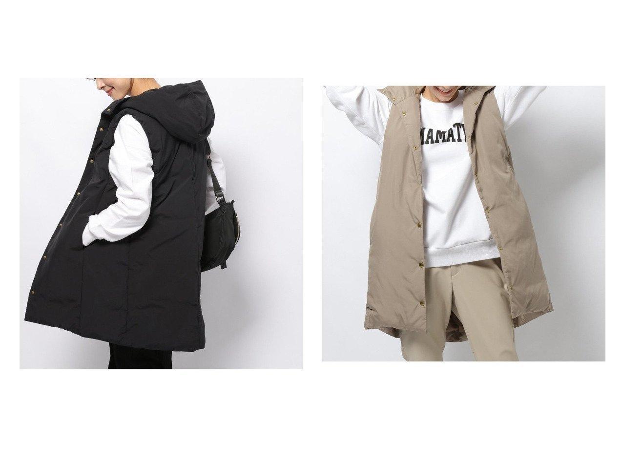 【BARNYARDSTORM/バンヤードストーム】のダウンベスト おすすめ!人気、トレンド・レディースファッションの通販 おすすめで人気の流行・トレンド、ファッションの通販商品 インテリア・家具・メンズファッション・キッズファッション・レディースファッション・服の通販 founy(ファニー) https://founy.com/ ファッション Fashion レディースファッション WOMEN アウター Coat Outerwear コート Coats ジャケット Jackets NEW・新作・新着・新入荷 New Arrivals ジャケット ダウン ベスト ベーシック リラックス  ID:crp329100000072411