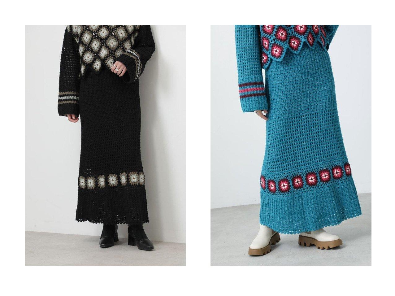【ROSE BUD/ローズバッド】のクロシェスカート 【スカート】おすすめ!人気、トレンド・レディースファッションの通販 おすすめで人気の流行・トレンド、ファッションの通販商品 インテリア・家具・メンズファッション・キッズファッション・レディースファッション・服の通販 founy(ファニー) https://founy.com/ ファッション Fashion レディースファッション WOMEN スカート Skirt ロングスカート Long Skirt クロシェ シンプル フィット マーメイド ロング |ID:crp329100000072542