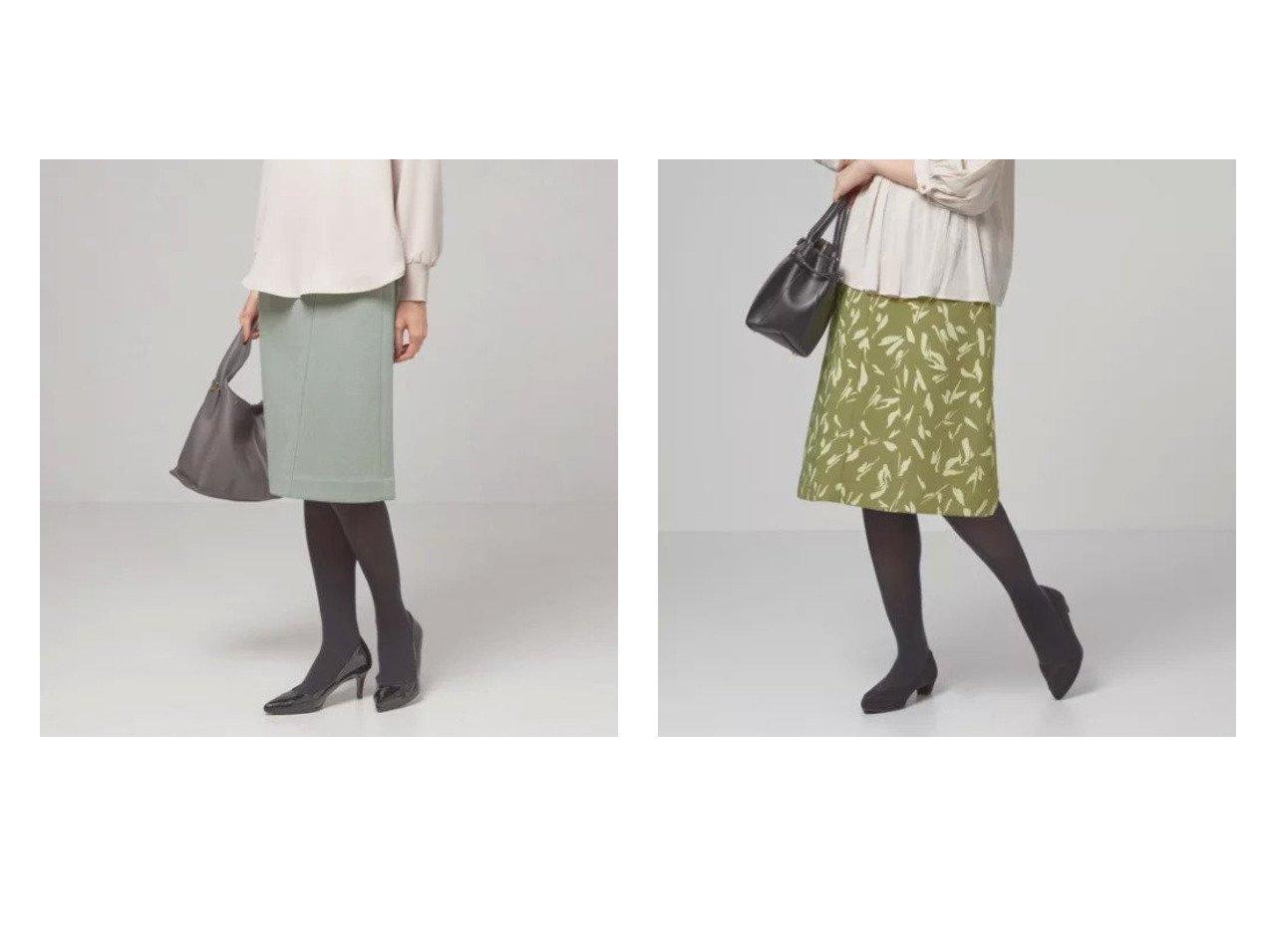 【THE STATION STORE / UNITED ARROWS/ザ ステーション ストア】のファンシーツイル ブラシ フレアスカート&ブークレ タイトスカート -ウォッシャブル- 【スカート】おすすめ!人気、トレンド・レディースファッションの通販 おすすめで人気の流行・トレンド、ファッションの通販商品 インテリア・家具・メンズファッション・キッズファッション・レディースファッション・服の通販 founy(ファニー) https://founy.com/ ファッション Fashion レディースファッション WOMEN スカート Skirt Aライン/フレアスカート Flared A-Line Skirts エレガント 秋 Autumn/Fall 切替 ジャケット スリット 台形 フォルム フレア プリント 冬 Winter おすすめ Recommend |ID:crp329100000072558