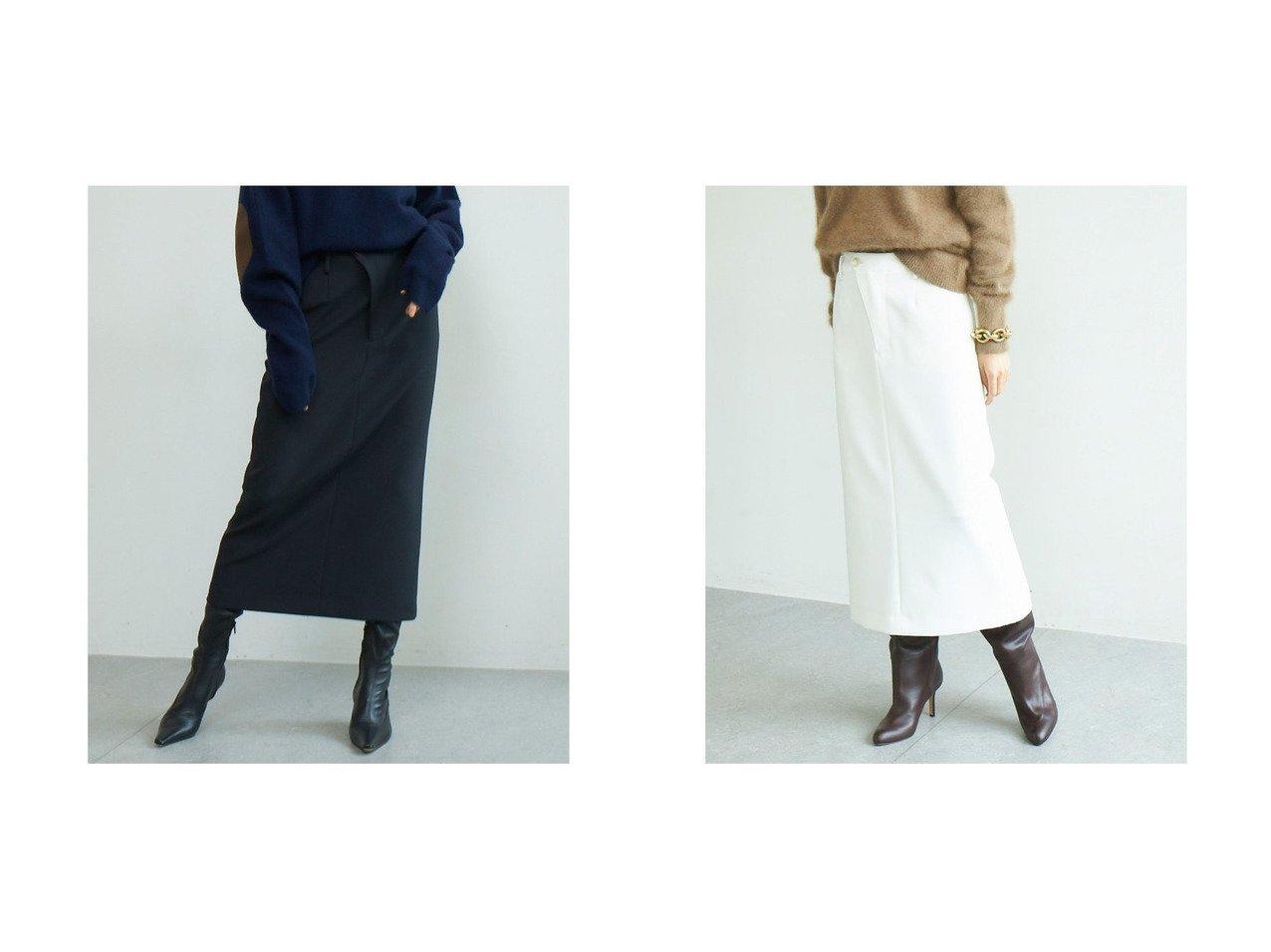 【GALLARDAGALANTE/ガリャルダガランテ】のタイトミディスカート 【スカート】おすすめ!人気、トレンド・レディースファッションの通販 おすすめで人気の流行・トレンド、ファッションの通販商品 インテリア・家具・メンズファッション・キッズファッション・レディースファッション・服の通販 founy(ファニー) https://founy.com/ ファッション Fashion レディースファッション WOMEN スカート Skirt ロングスカート Long Skirt ジャケット スリット タイトスカート パーカー ロング |ID:crp329100000072562