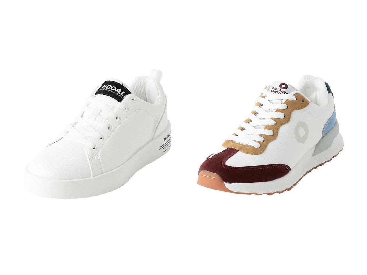 【ECOALF/エコアルフ】のPRINCE スニーカー&ELIOT GRAPE スニーカー 【シューズ・靴】おすすめ!人気、トレンド・レディースファッションの通販 おすすめで人気の流行・トレンド、ファッションの通販商品 インテリア・家具・メンズファッション・キッズファッション・レディースファッション・服の通販 founy(ファニー) https://founy.com/ ファッション Fashion レディースファッション WOMEN スニーカー フォルム ブロッキング 定番 Standard 軽量 オイル |ID:crp329100000072568
