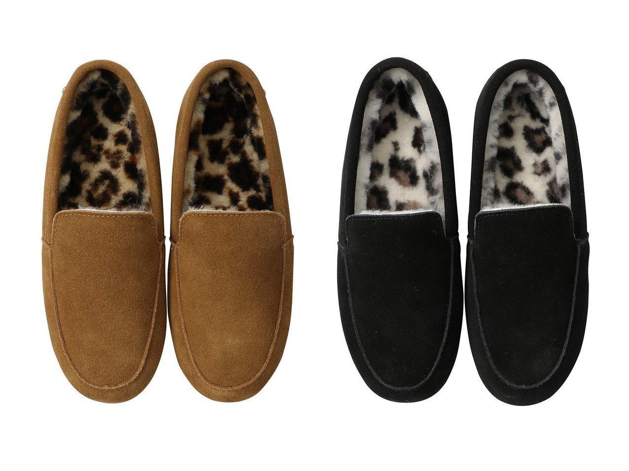 【EMU Australia/エミュ オーストラリア】のCrossley Animal2.0 モカシン 【シューズ・靴】おすすめ!人気、トレンド・レディースファッションの通販 おすすめで人気の流行・トレンド、ファッションの通販商品 インテリア・家具・メンズファッション・キッズファッション・レディースファッション・服の通販 founy(ファニー) https://founy.com/ ファッション Fashion レディースファッション WOMEN シューズ スエード フラット レオパード |ID:crp329100000072569