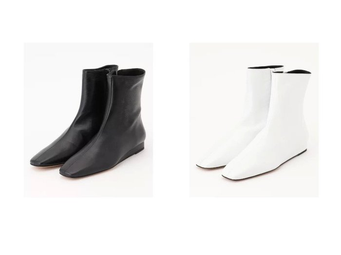 【JOSEPH/ジョゼフ】のコルソローマ ショートブーツ 【シューズ・靴】おすすめ!人気、トレンド・レディースファッションの通販 おすすめ人気トレンドファッション通販アイテム 人気、トレンドファッション・服の通販 founy(ファニー) ファッション Fashion レディースファッション WOMEN クール シューズ ショート スクエア ロング  ID:crp329100000072576